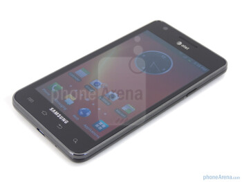 Front side - Samsung Galaxy S II AT&T Review