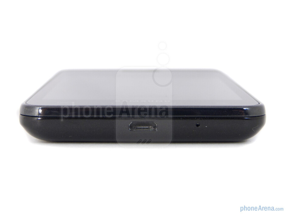 Bottom edge - The sides of the Samsung Galaxy S II AT&T - Samsung Galaxy S II AT&T Review