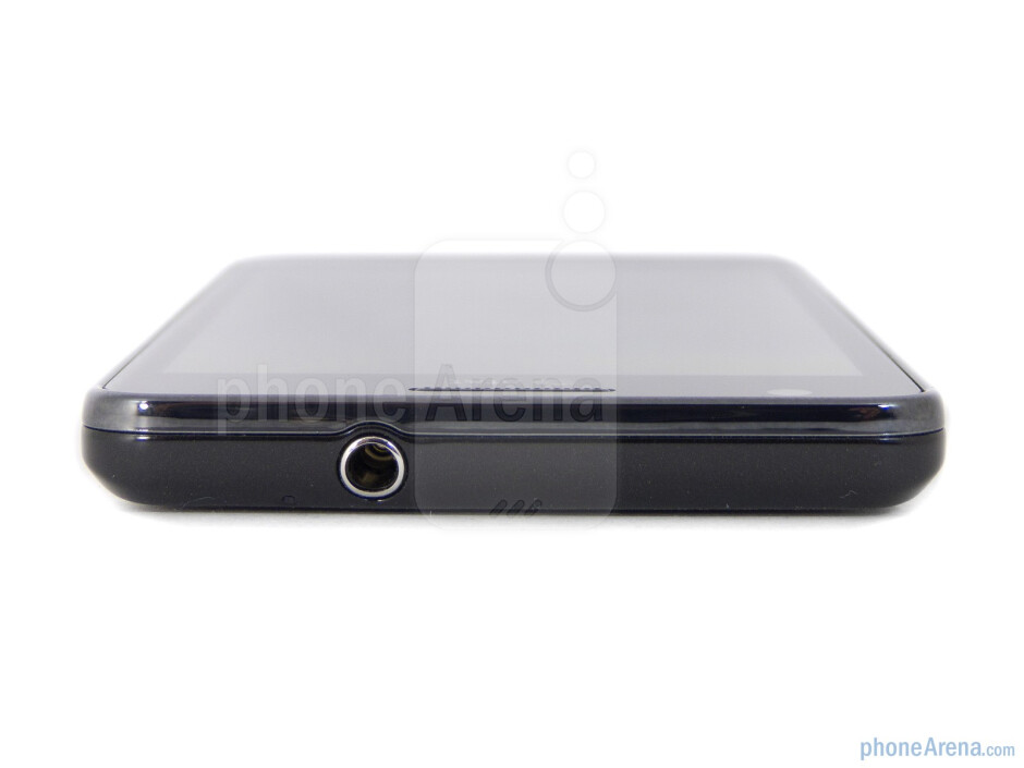Top - The sides of the Samsung Galaxy S II AT&T - Samsung Galaxy S II AT&T Review