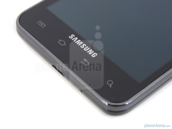Capacitive Android buttons - Samsung Galaxy S II AT&T Review