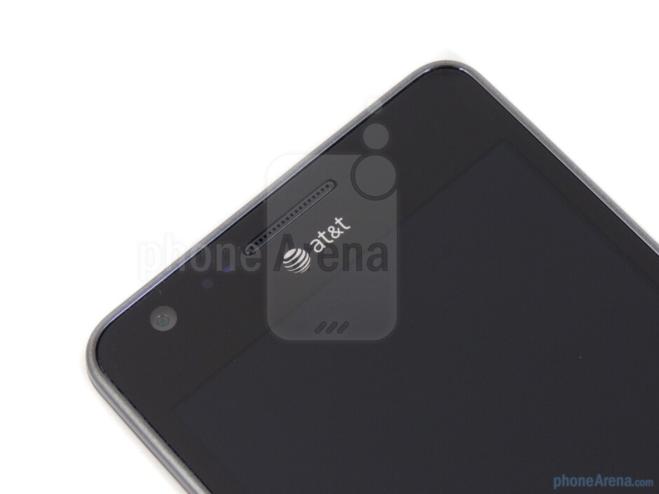 The front-facing camera - Samsung Galaxy S II AT&T Review