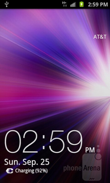The Samsung Galaxy S II AT&T runs TouchWiz UI on top of Android 2.3.4 Gingerbread - Samsung Galaxy S II AT&T Review