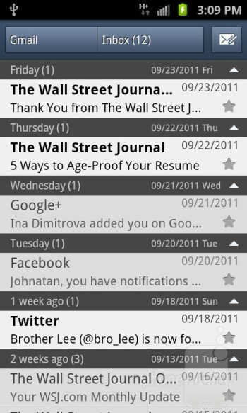 Email - Samsung Galaxy S II AT&T Review