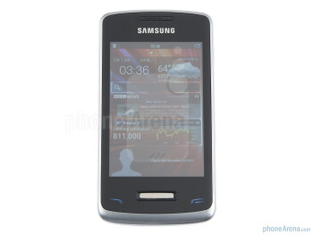 Front side - Samsung Wave Y Preview