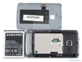 Battery compartment - Samsung Wave Y Preview