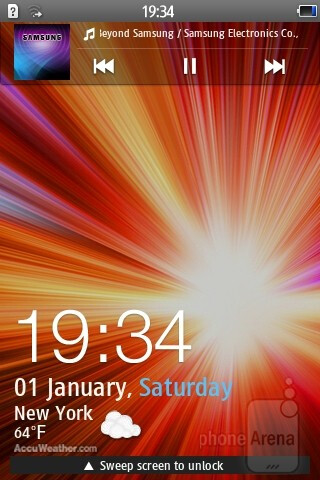 The new bada 2.0 TouchWiz UI on the Samsung Wave Y - Samsung Wave Y Preview