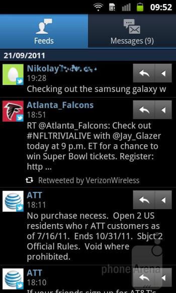 Samsung GALAXY W Preview