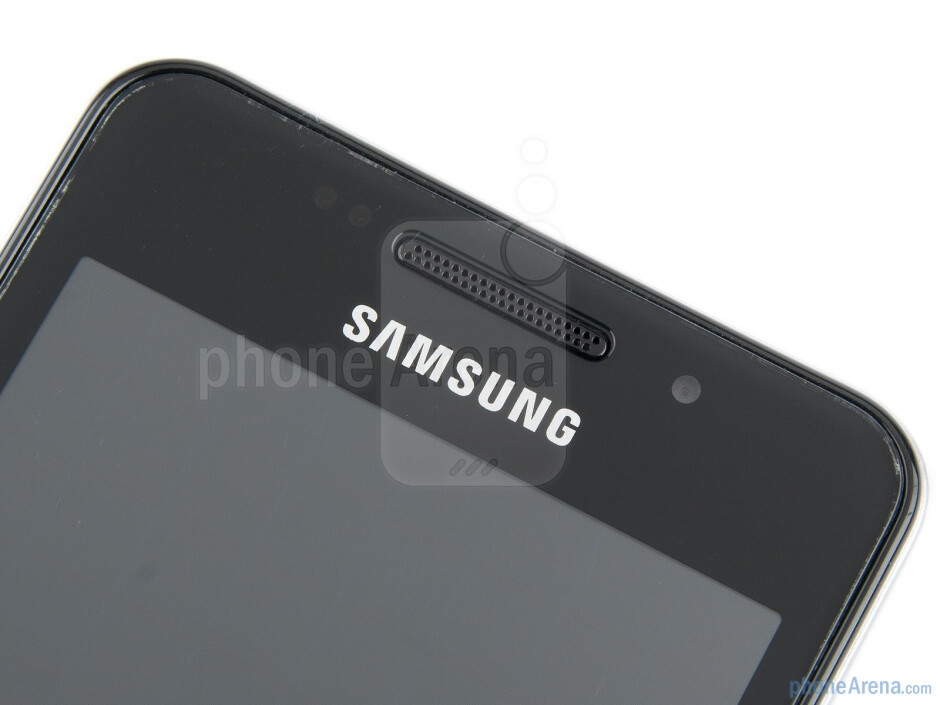 The front facing camera - Samsung Wave M Preview