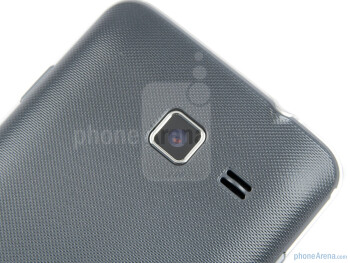 5MP camera on the back - Samsung Wave M Preview