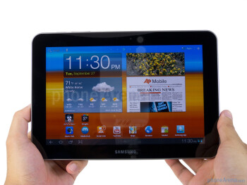 The Samsung GALAXY Tab 8.9 looks and feels much like its bigger brother - Samsung GALAXY Tab 8.9 Review