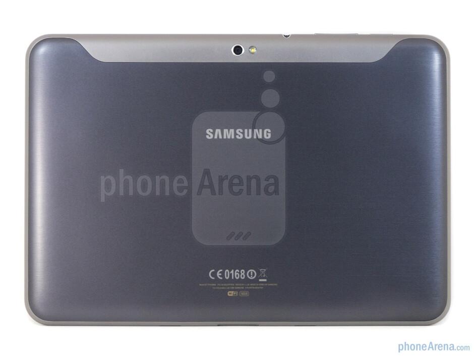 Back - Samsung GALAXY Tab 8.9 Review
