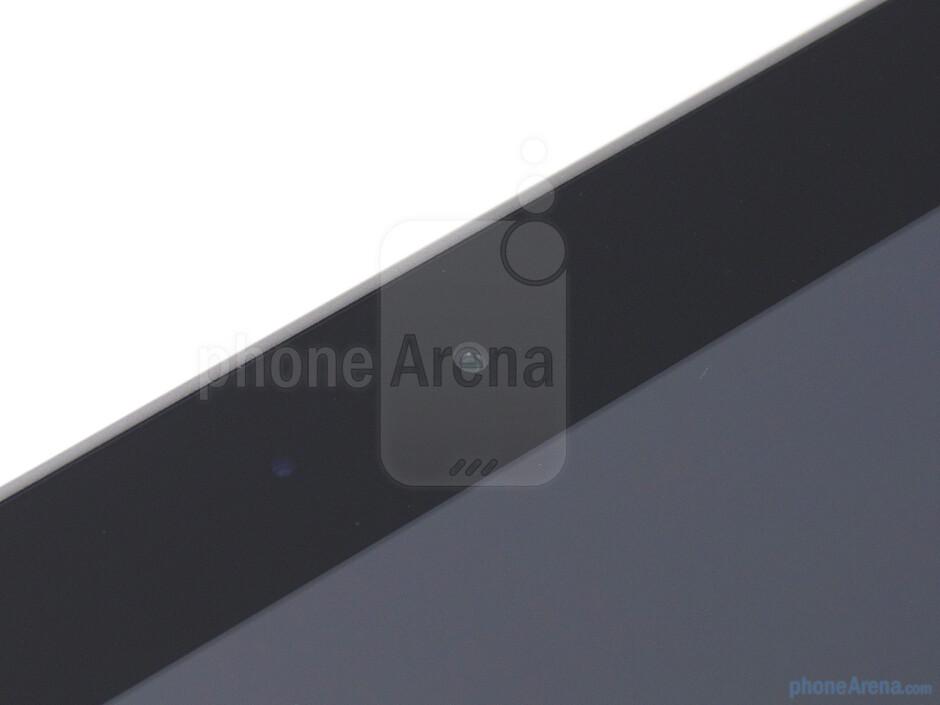 Front facing camera - Samsung GALAXY Tab 8.9 Review
