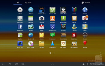 Apps - Samsung GALAXY Tab 8.9 Review