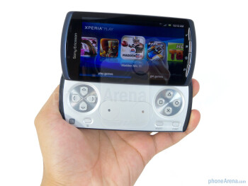 The Sony Ericsson Xperia Play 4G employs a decent build quality, but it easily stands out being thicker than most contemporary smartphones - Sony Ericsson Xperia PLAY 4G Review