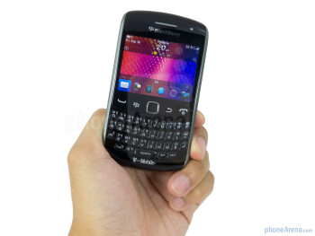 "The RIM BlackBerry Curve 9360 sports a very thin chassis at 0.43"" thick - RIM BlackBerry Curve 9360 Review"