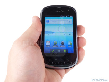 Kyocera has stuck with the familiar side-slide design for the Milano - Kyocera Milano Review