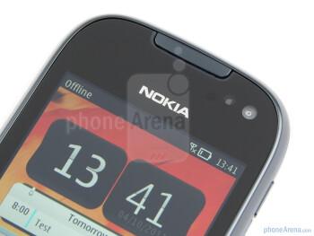 Front facing camera - Nokia 701 Review