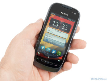 The Nokia 701 feels pretty solid in the hand - Nokia 701 Review