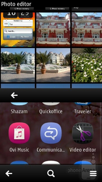 The photo editing app - Nokia 701 Review