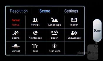 Camera interface - Pantech Breakout Review