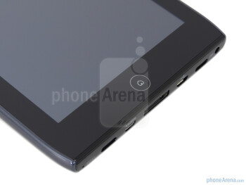 Capacitive home button - Acer ICONIA TAB A100 Review