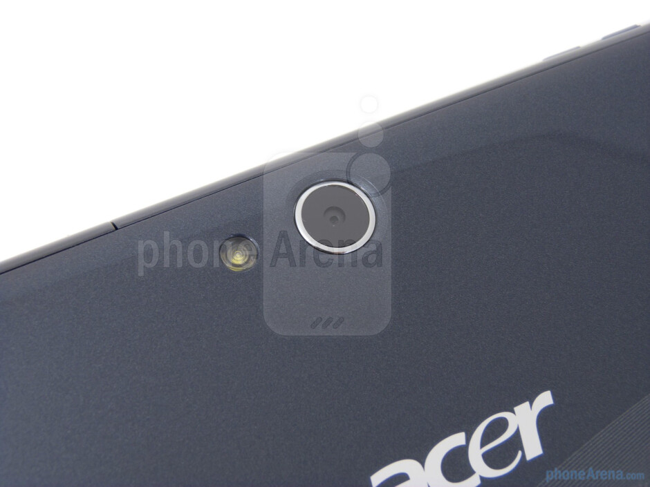 Rear camera - Acer ICONIA TAB A100 Review