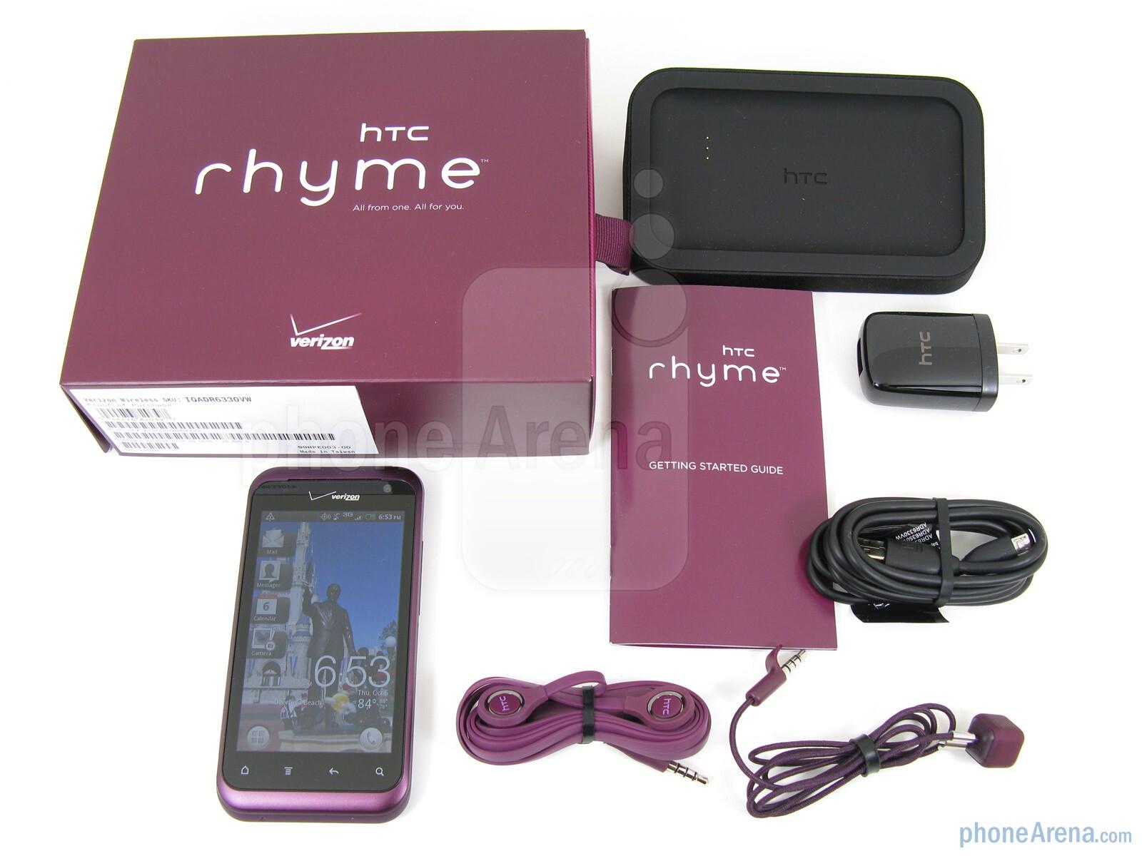 Htc Purple Rhyme Htc Rhyme Review