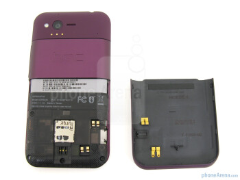 Battery compartment - HTC Rhyme Review