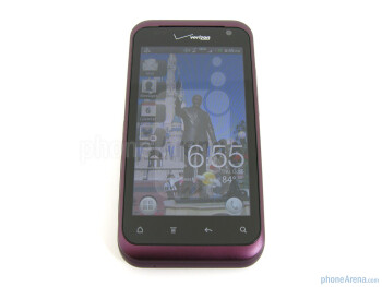 Front side - HTC Rhyme Review