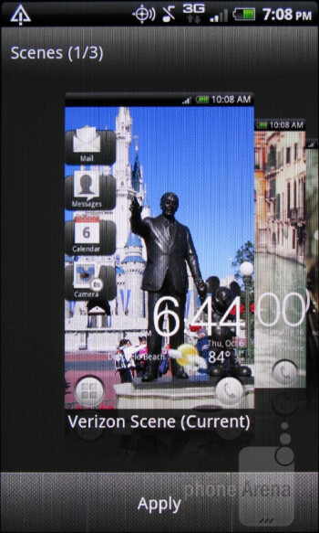 The HTC Rhyme come equipped with the new HTC Sense UI 3.5 interface - HTC Rhyme Review