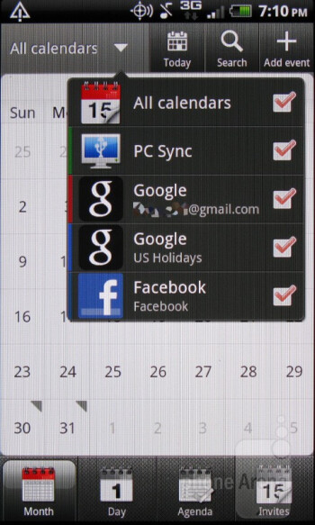 Calendar - HTC Rhyme Review