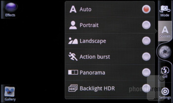 Camera interface - HTC Rhyme Review