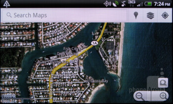 Google Maps - HTC Rhyme Review