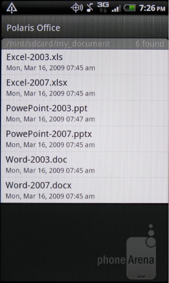 The PolarisOffice app - HTC Rhyme Review