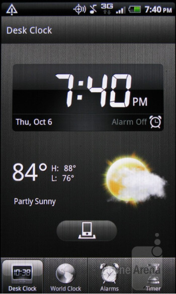 The Clock app - HTC Rhyme Review
