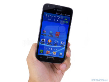 T-Mobile's Samsung Galaxy S II is plastic in nature, but lightweight for its size - Samsung Galaxy S II T-Mobile Review