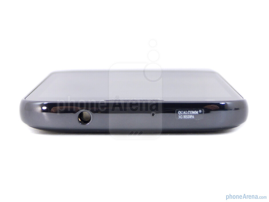3.5 mm jack on top - The sides of the Samsung Galaxy S II for T-Mobile - Samsung Galaxy S II T-Mobile Review
