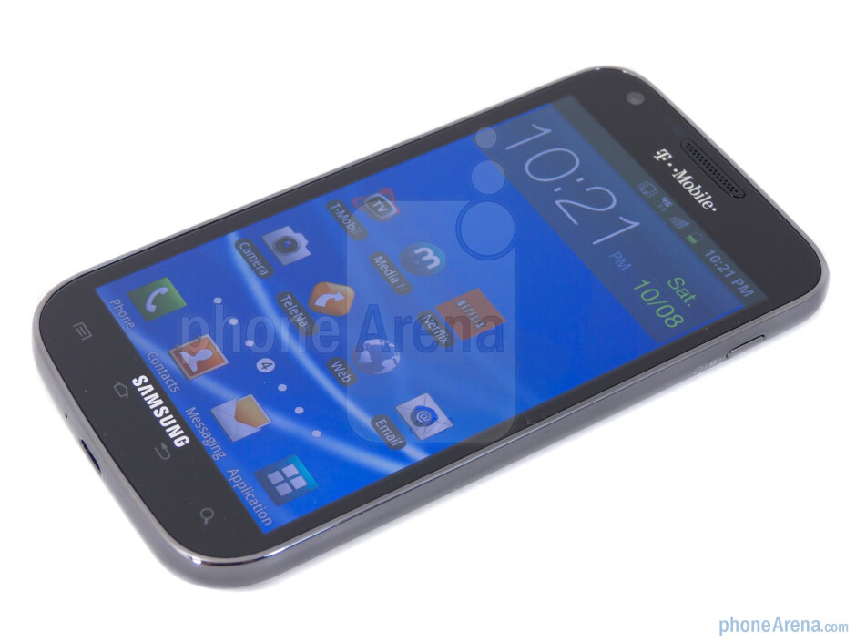"""T-Mobile's Samsung Galaxy S II comes with 4.52"""" WVGA Super AMOLED Plus display - Samsung Galaxy S II T-Mobile Review"""