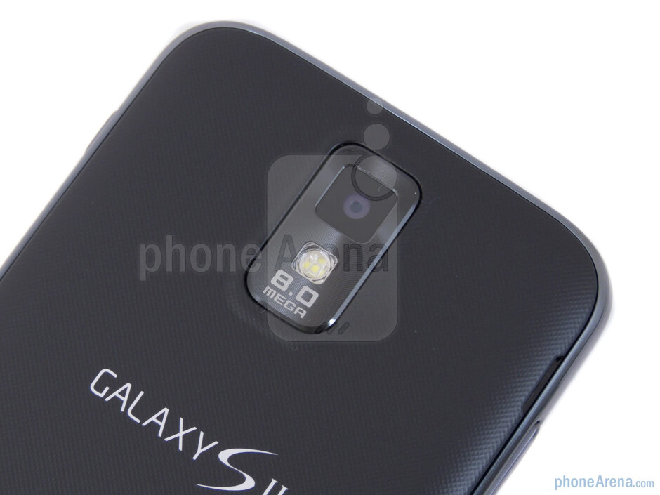 Rear camera - Samsung Galaxy S II T-Mobile Review