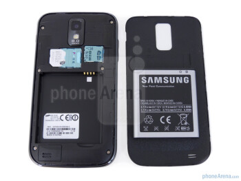 Battery compartment - Samsung Galaxy S II T-Mobile Review