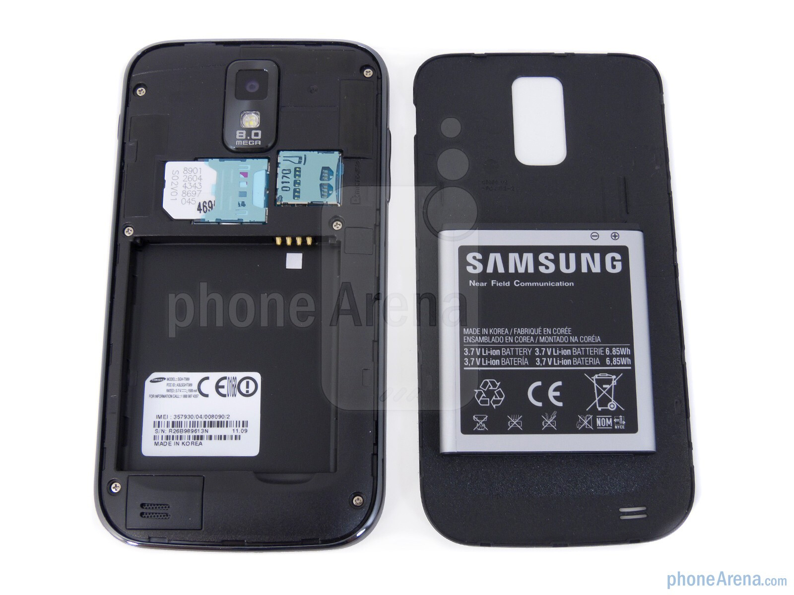 how to turn off camera noise samsung s2